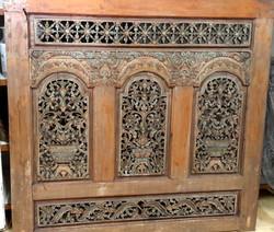 Carved Javanese Panel