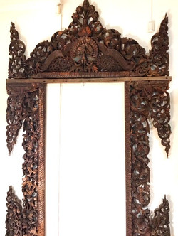 Antique Archway Hand Carved