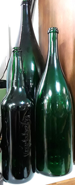 Large Green Bottles