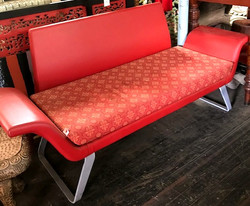 Leather Double Seat by Danba Designs