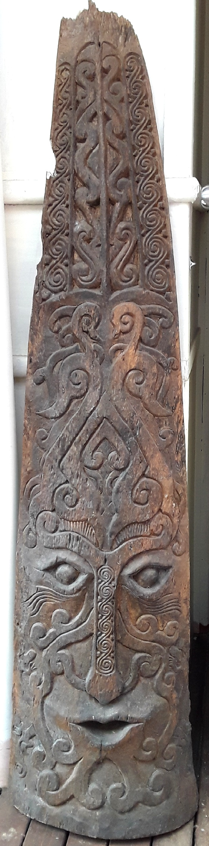 Carved Timber Green Man