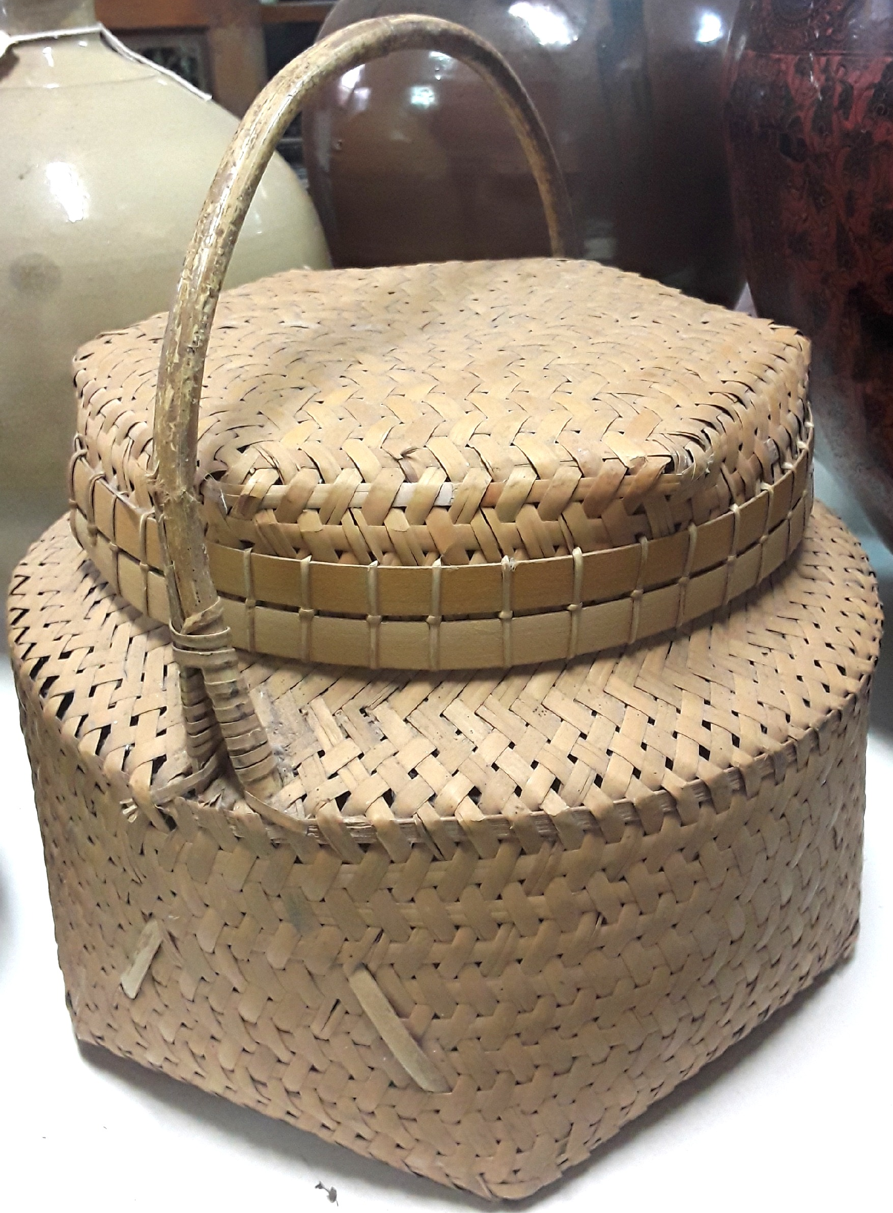 Sulawesi Toraja Basket with Lid
