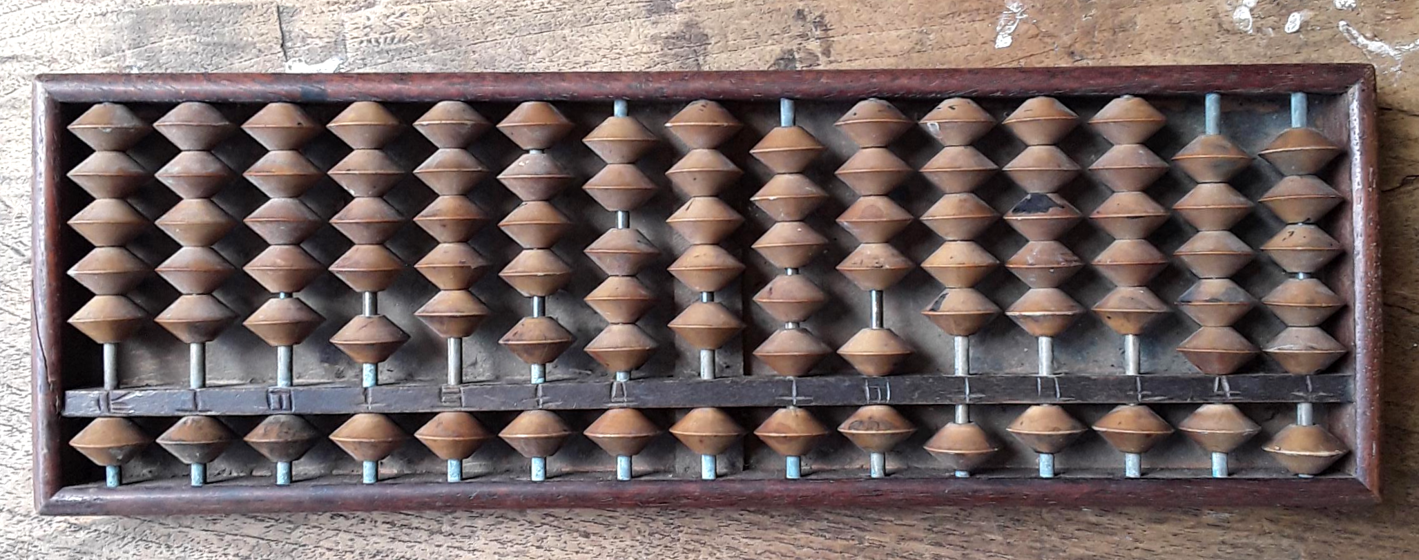 Timber Abacus