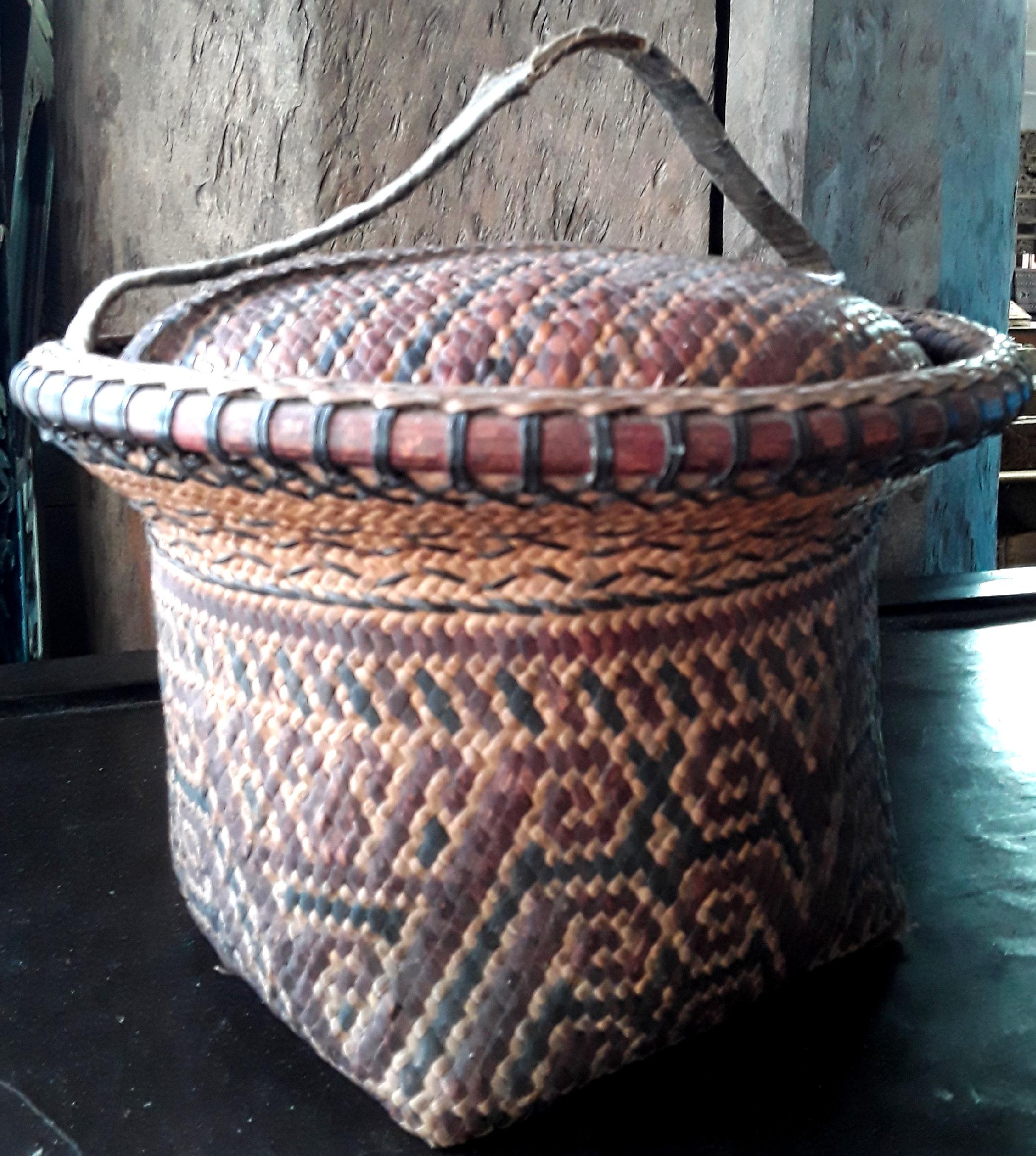 Dayak Basket