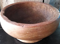 Hand Carved Root Burl Bowl