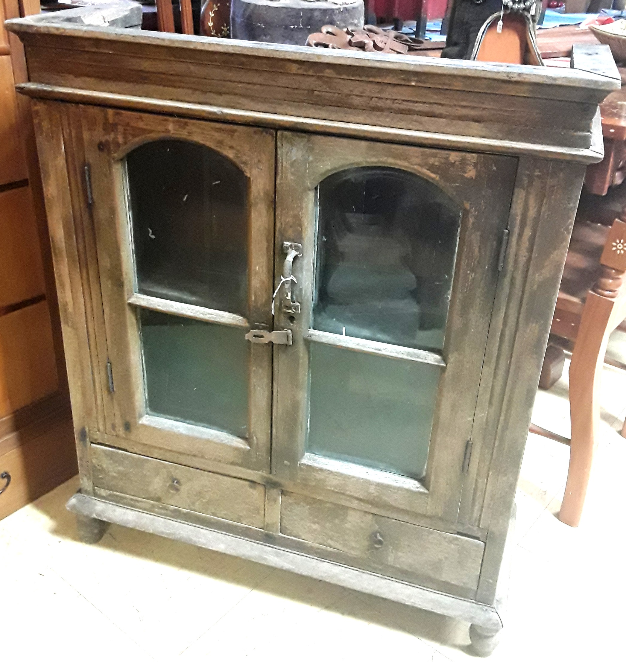 Antique Rustic Burmese Cabinet
