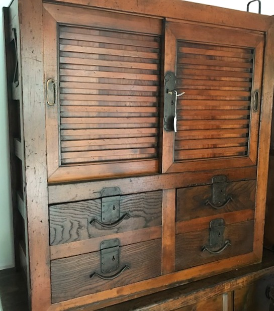 Antique Japanese Cupboard
