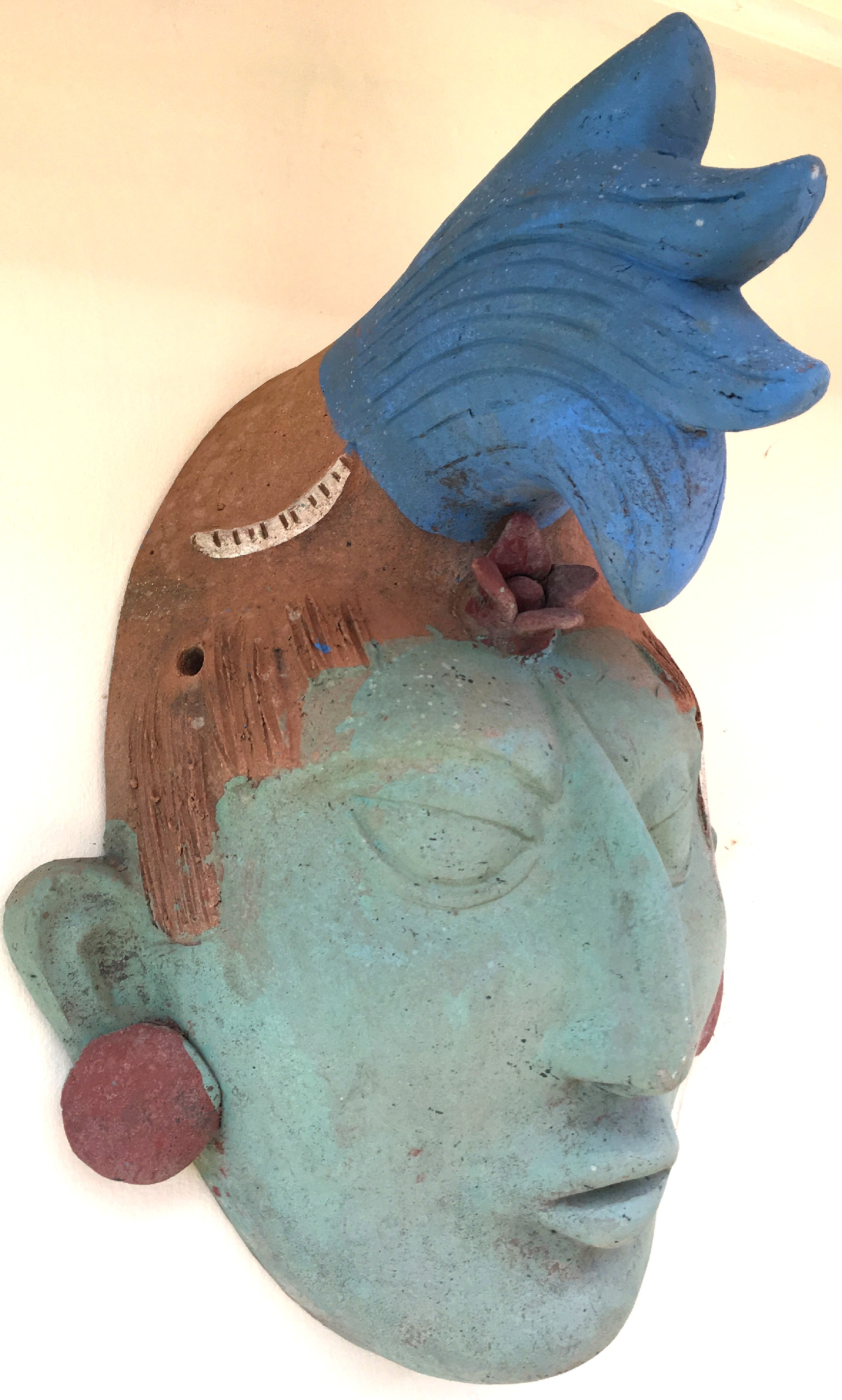 Terracotta Wall Mask