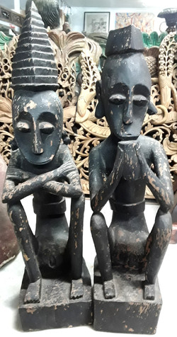Leti Islands Statues