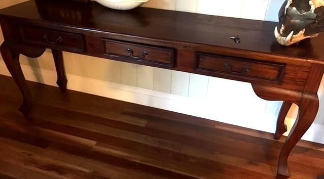 Timber Sideboard 3 Drawers