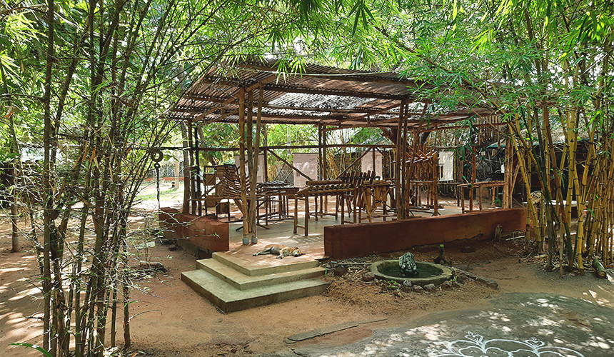 Bamboo Sound Pavilion, 2018