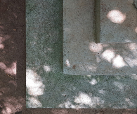 Materials- Concrete steps