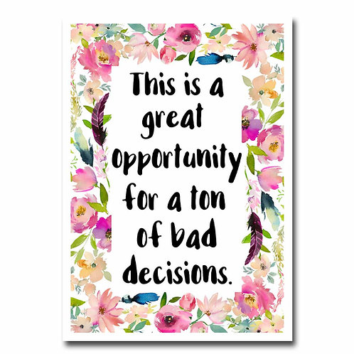 Great Opportunity Greeting Card - 6 pack