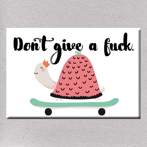 Don't Give A Fuck Magnet- Set of 3 Wholesale
