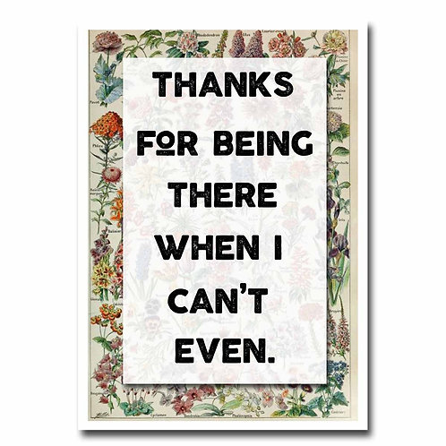 Can't Even Greeting Card - 6 pack