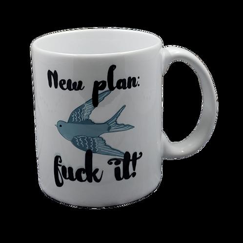 New Plan coffee mug - wholesale set of 2