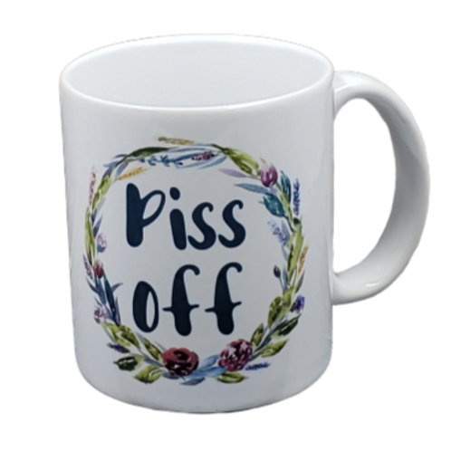 Piss Off coffee mug - wholesale set of 2