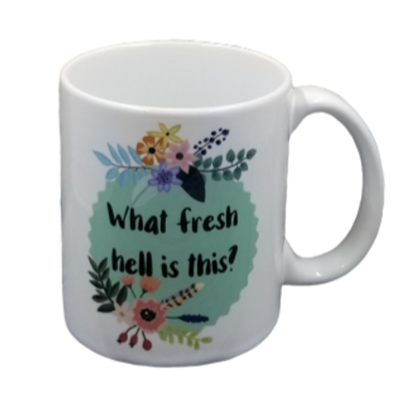 Fresh Hell Coffee Mug Set of 2 Wholesale