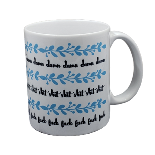 A Whole Lot of Swears Coffee Mug Set of 2 Wholesale
