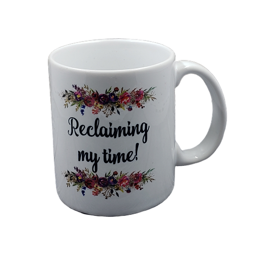 Reclaiming My Time coffee mug - wholesale set of 2
