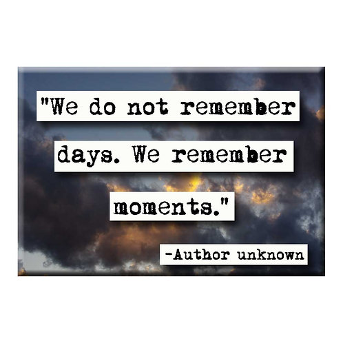 Remember Moments  Magnet- Set of 3 Wholesale