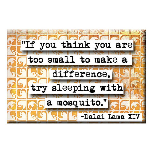 Dalai Lama Mosquito Magnet - Set of 3
