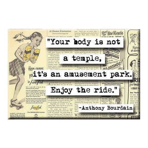 Anthony Bourdain Magnet - Set of 3
