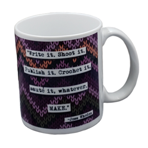 Joss Whedon Make Quote coffee mug - wholesale set of 2