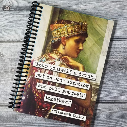 Elizabeth Taylor Notebook - Set of 2 Wholesale
