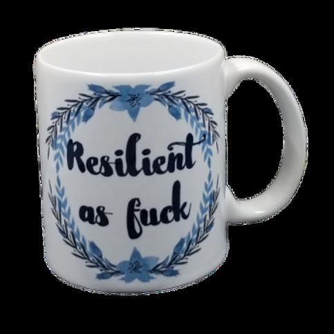 Resilient As Fuck Coffee Mug Set of 2