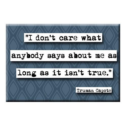 Truman Capote True Quote Magnet- Set of 3 Wholesale
