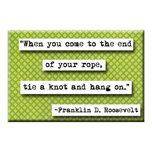 Franklin D. Roosevelt Magnet - Set of 3