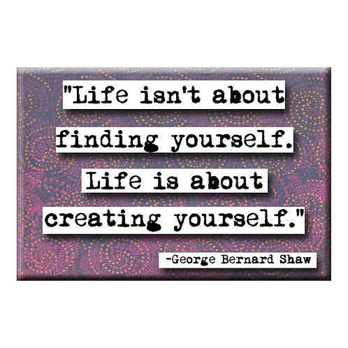 George Bernard Shaw Life Magnet - Set of 3 Wholesale