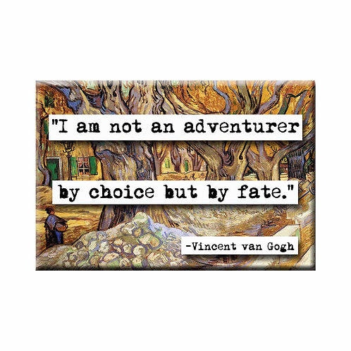 Vincent van Gogh Adventurer Quote Magnet - Set of 3 Wholesale
