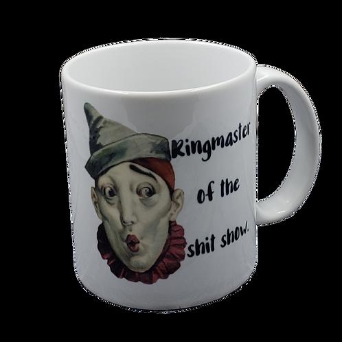 Ringmaster of the Shit Show coffee mug - wholesale set of 2