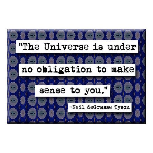 Neil deGrasse Tyson Universe Quote Magnet- Set of 3 Wholesale
