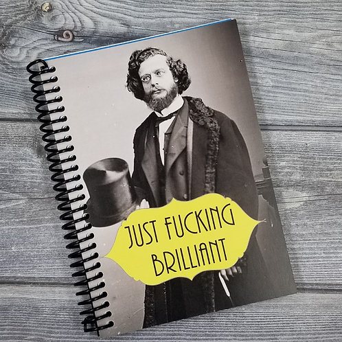 NSFW Just Brilliant  Notebook- Set of 2 Wholesale