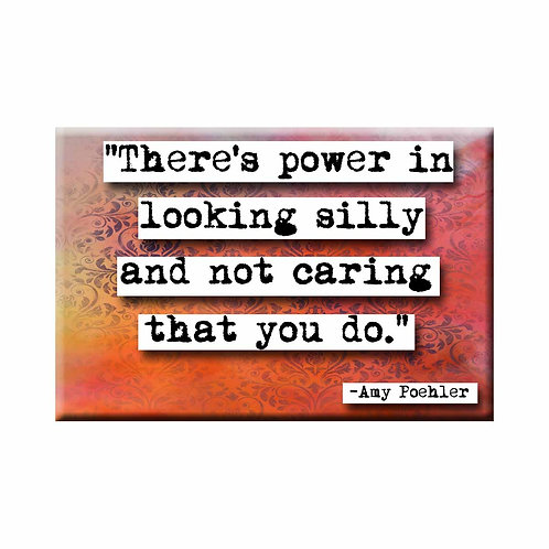 Amy Poehler  Power Quote Magnet - Set of 3 Wholesale