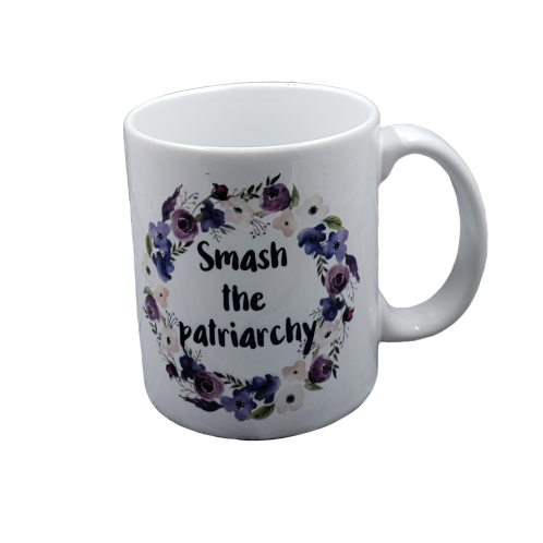 Smash the Patriarchy coffee mug - wholesale set of 2