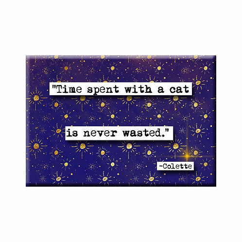 Colette Time Spent Quote Magnet - Set of 3 Wholesale