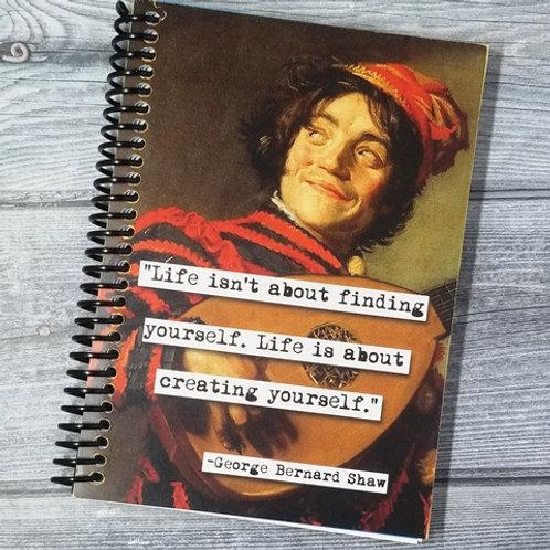 George Bernard Shaw Notebook- Set of 2 Wholesale