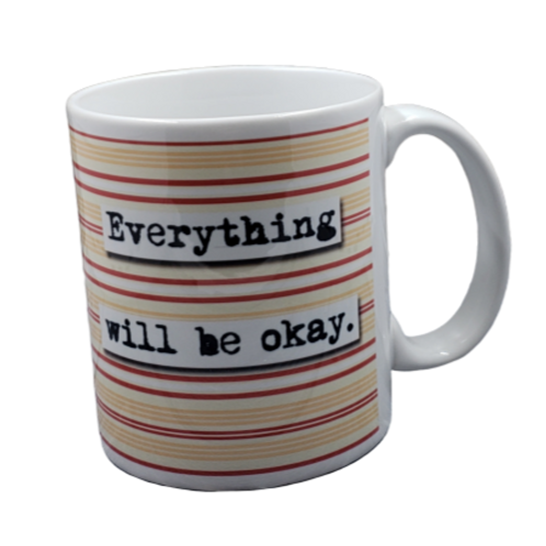 Everything Will Be Okay coffee mug - wholesale set of 2