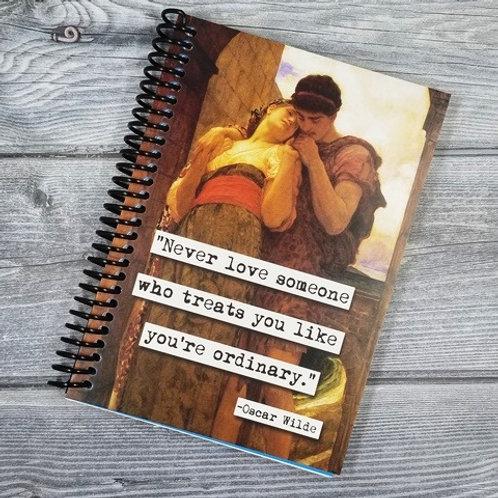 Oscar Wilde Notebook - Set of 2 Wholesale