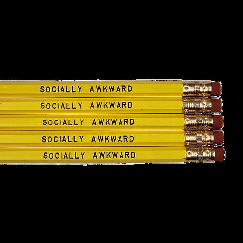 Socially Awkward Pencils - 3 sets