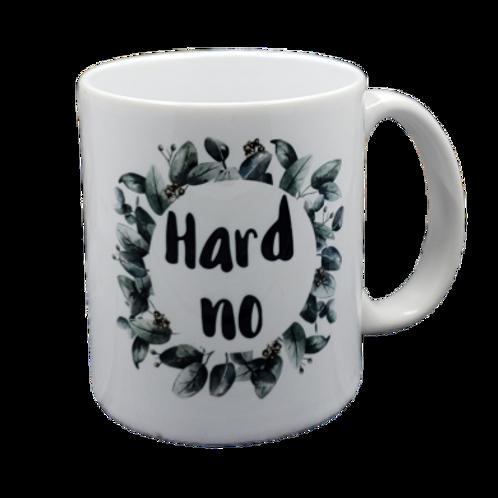 Hard No coffee mug - wholesale set of 2