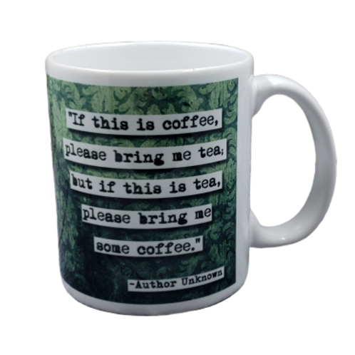 If this is Coffee Please Bring Me coffee mug - wholesale set of 2
