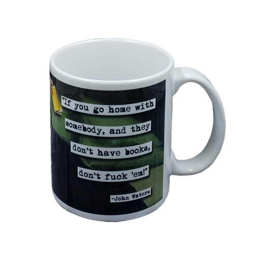 John Waters Books Quote  coffee mug - wholesale set of 2
