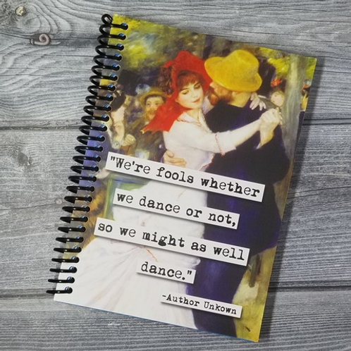 Might As Well Dance Notebook- Set of 2 Wholesale