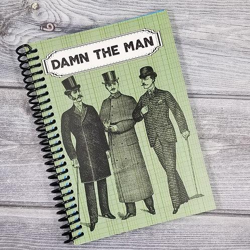 NSFW Damn the Man  Notebook- Set of 2 Wholesale