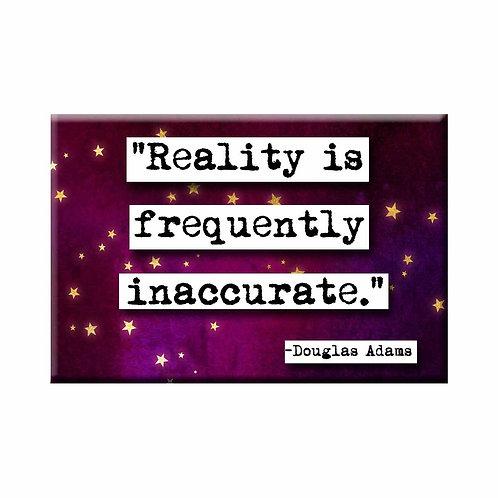 Douglas Adams Reality Magnet - Set of 3